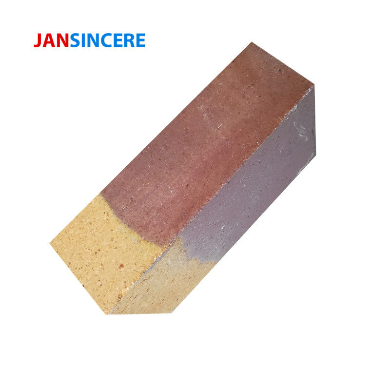 Standard Fireplace Zirconia Bricks High Erosion Resistance For Hot Bast Stove