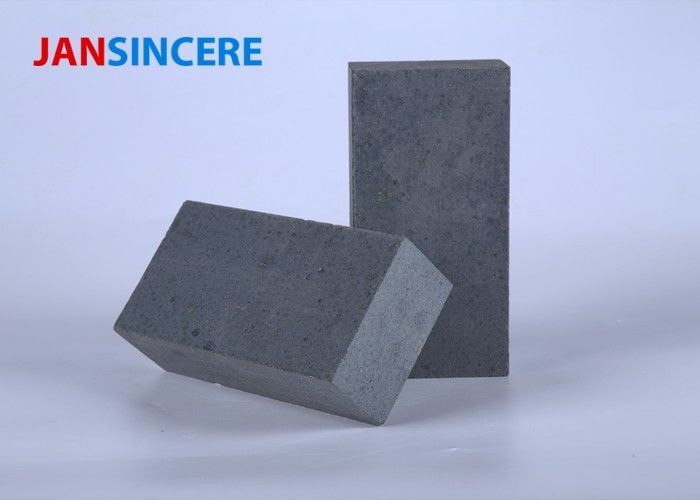 Kiln Refractory Fire Bricks , High Temperature Sintered SiC 80% Thin Fire Brick