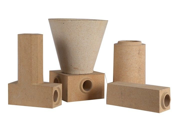 Standard & Special Shape Shock Resistance Fire Clay Bricks , Lightweight Refractory Fire Bricks