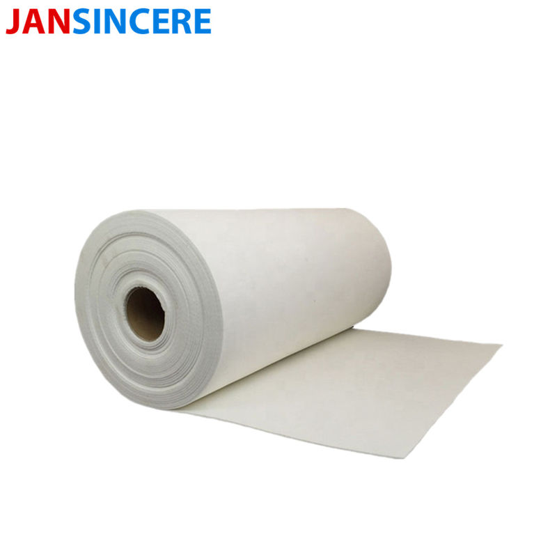 Thin Ceramic Fiber Insulation Paper Heat Insulation Furnace Door Paper